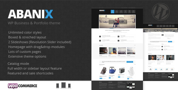 Smarty Portfolio & Shop WordPress Theme